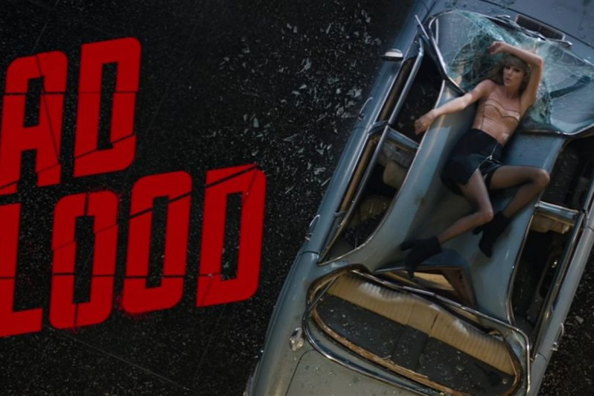 5- Taylor Swift – Bad Blood ft. Kendrick Lamar. Foto: vía YouTube. Imagen Por: