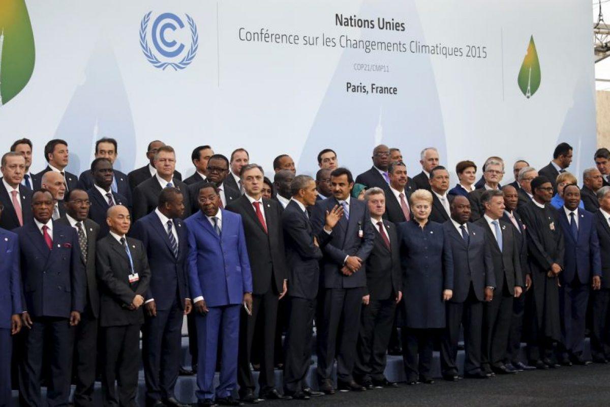 Y los líderes de más de 150 naciones Foto:Getty Images. Imagen Por: