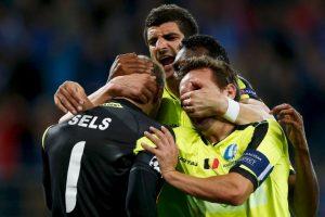 El combinado belga venció al Zenit y clasificó como segundo del Grupo H Foto:Getty Images. Imagen Por: