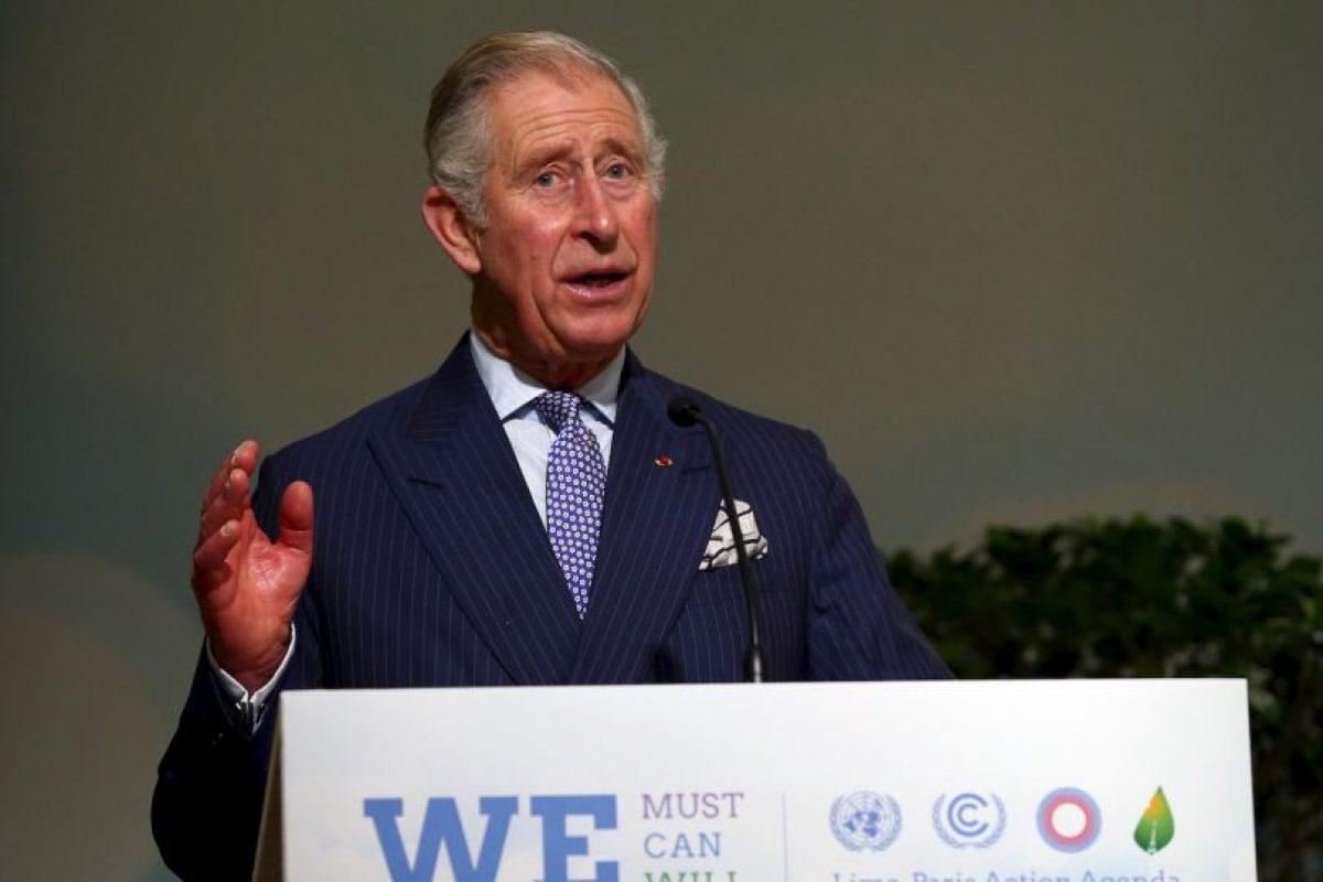 El príncipe Carlos de Gales Foto:COP 21 Getty Images. Imagen Por: