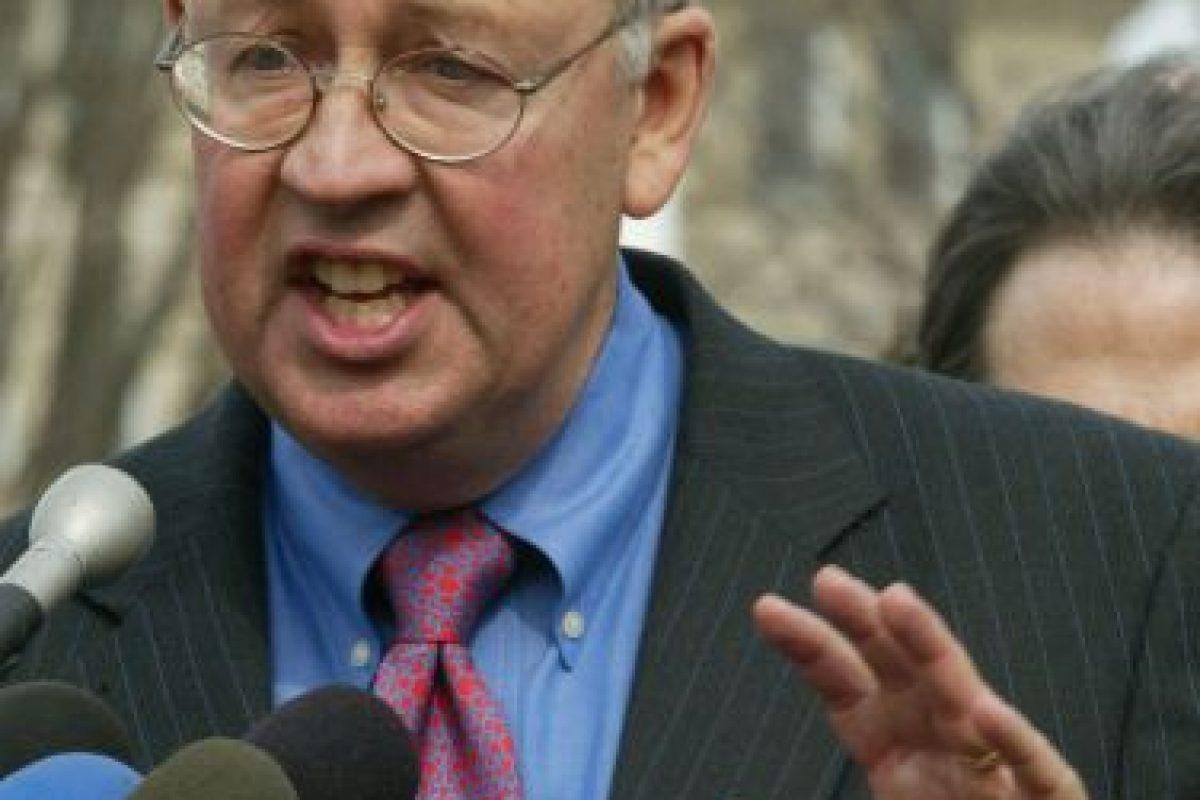 Star presentó un informe que dio pasos a la investigación del caso Clinton- Lewinsky Foto:Getty Images. Imagen Por: