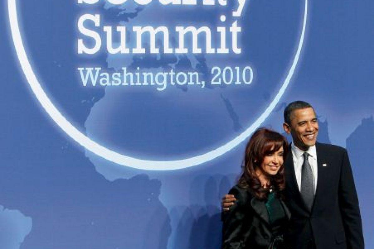 2010, reunión con el presidente Barack Obama Foto:Getty Images. Imagen Por:
