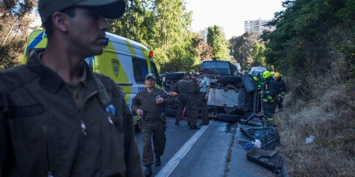 Elevan cifra: fin de semana largo deja 25 fallecidos en accidentes viales