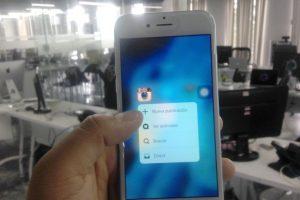 """El """"3D Touch"""" llega a los smartphones Android. Foto:Nicolás Corte. Imagen Por:"""