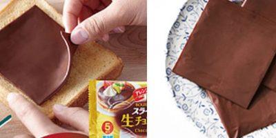 Lo que estabas soñando: ya existe el chocolate en lonjas para hacer sandwiches