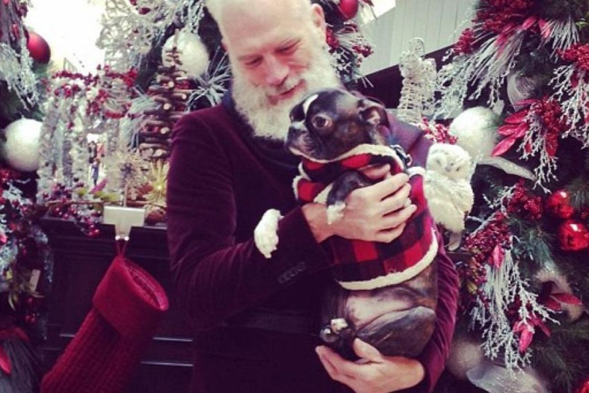 Mason afirma que los niños lo confunden con Santa. Foto:vía Instagram. Imagen Por: