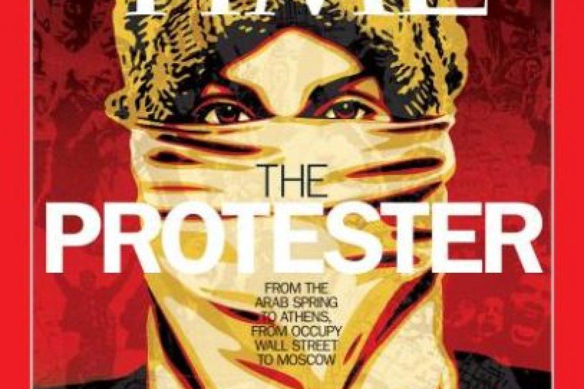 2011- Los manifestantes en Atenas, los de la Primavera Áraba, Occupy Wall Street, entre otros. Foto:Vía Time. Imagen Por: