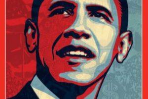 2008- Barack Obama al ganar la presidencia de Estados Unidos. Foto:Vía Time. Imagen Por: