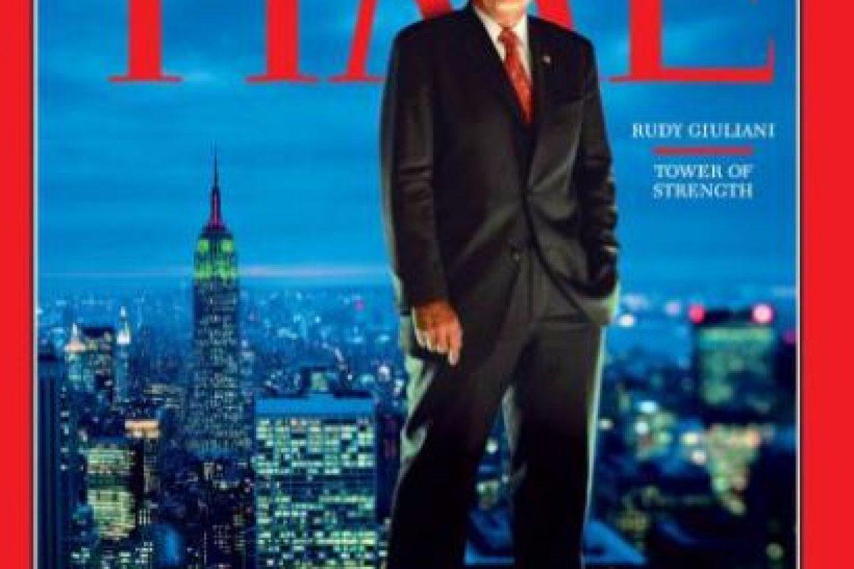 2001- Rudy Guiliani Foto:Vía Time. Imagen Por: