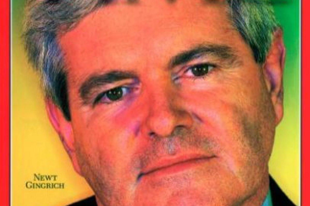 1995- Newt Gingrich Foto:Vía Time. Imagen Por: