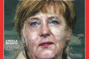2015- Angela Merkel Foto:Vía Time. Imagen Por:
