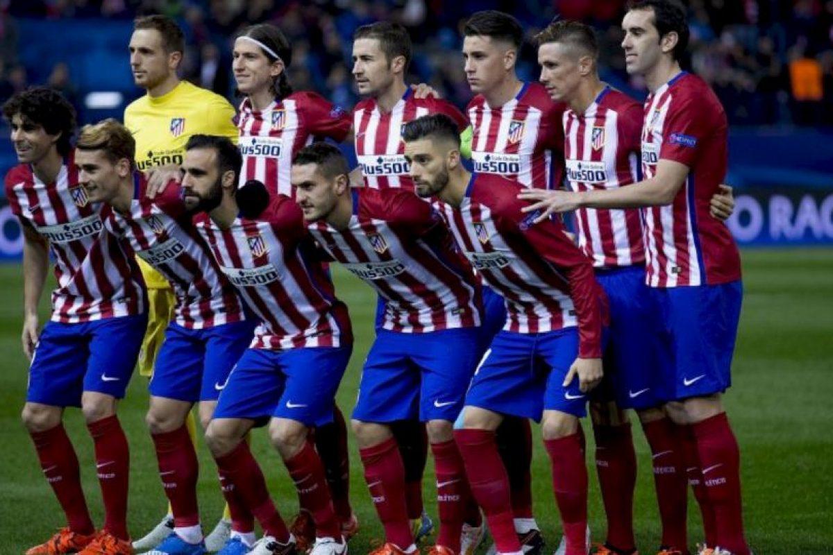 5. Atlético de Madrid Foto:Getty Images. Imagen Por: