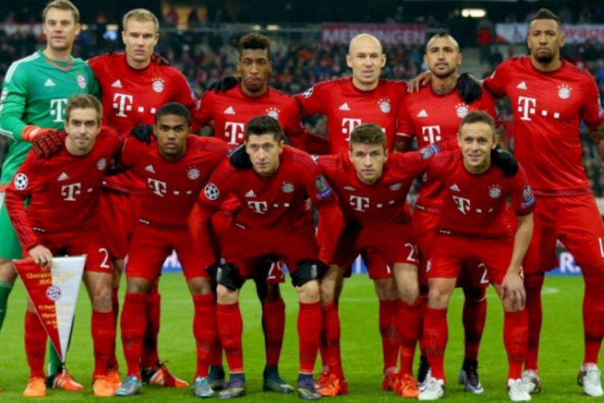 10. Bayern Múnich Foto:Getty Images. Imagen Por: