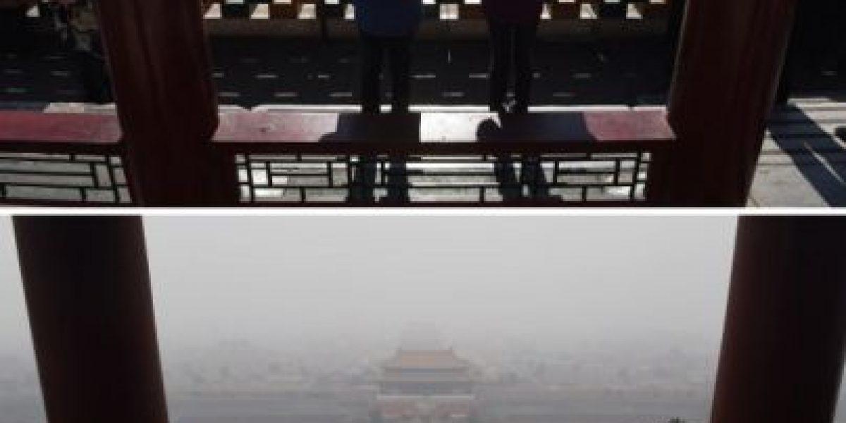 Y el cielo volvió a ser azul: Beijing levanta la alerta roja por contaminación