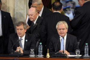 El presidente rindió juramento en el Congreso Foto:AFP. Imagen Por: