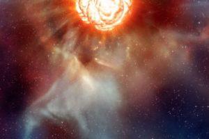 Representación artística de la imagen captada. Foto: Reproducción ESO/L. Imagen Por: