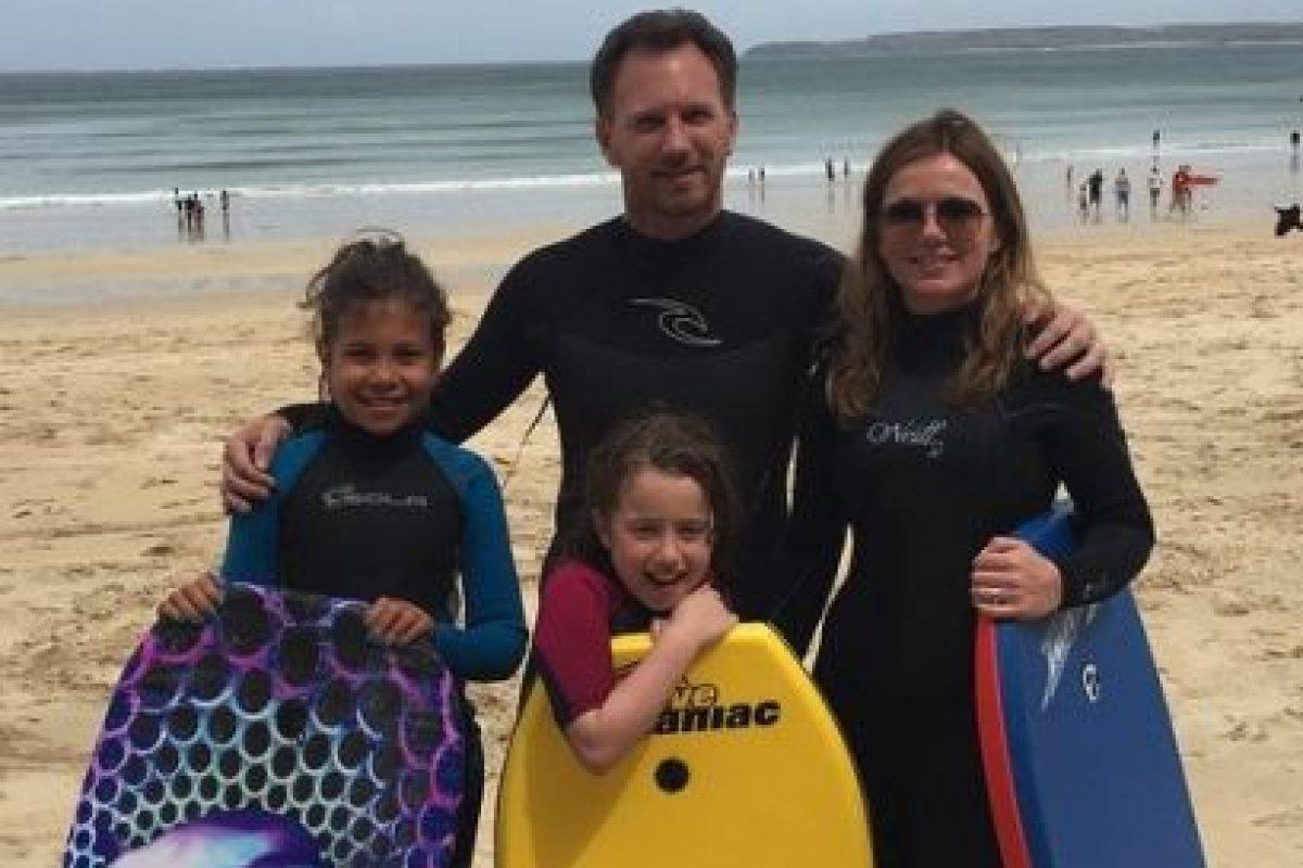 Ahora forman una familia con sus respectivas hijas. Foto:vía instagram.com/therealgerihalliwell. Imagen Por: