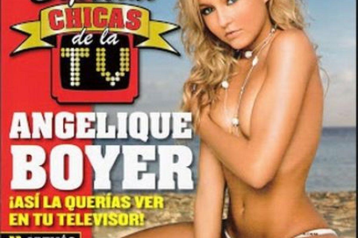 """Las curvas de la actriz han cautivado a más de uno. Foto:Revista """"Maxim"""". Imagen Por:"""