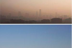 Así lucía Beijing en medio del esmog Foto:Getty Images. Imagen Por: