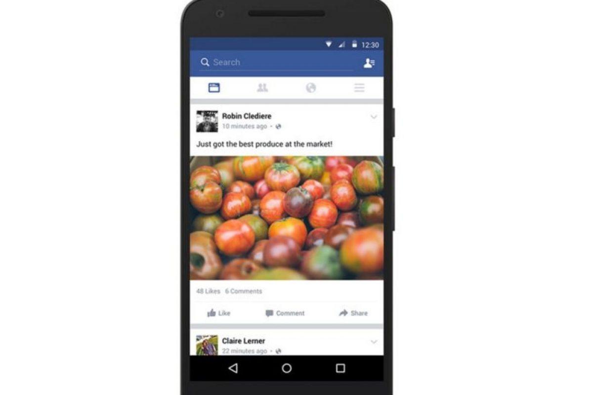 Facebook quiere mejorar la experiencia del usuario. Foto:vía Facebook.com. Imagen Por:
