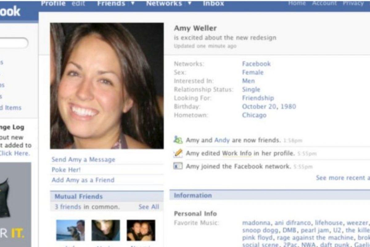 2007. Se le trataba al usuario en tercera persona. Foto:vía Facebook.com. Imagen Por: