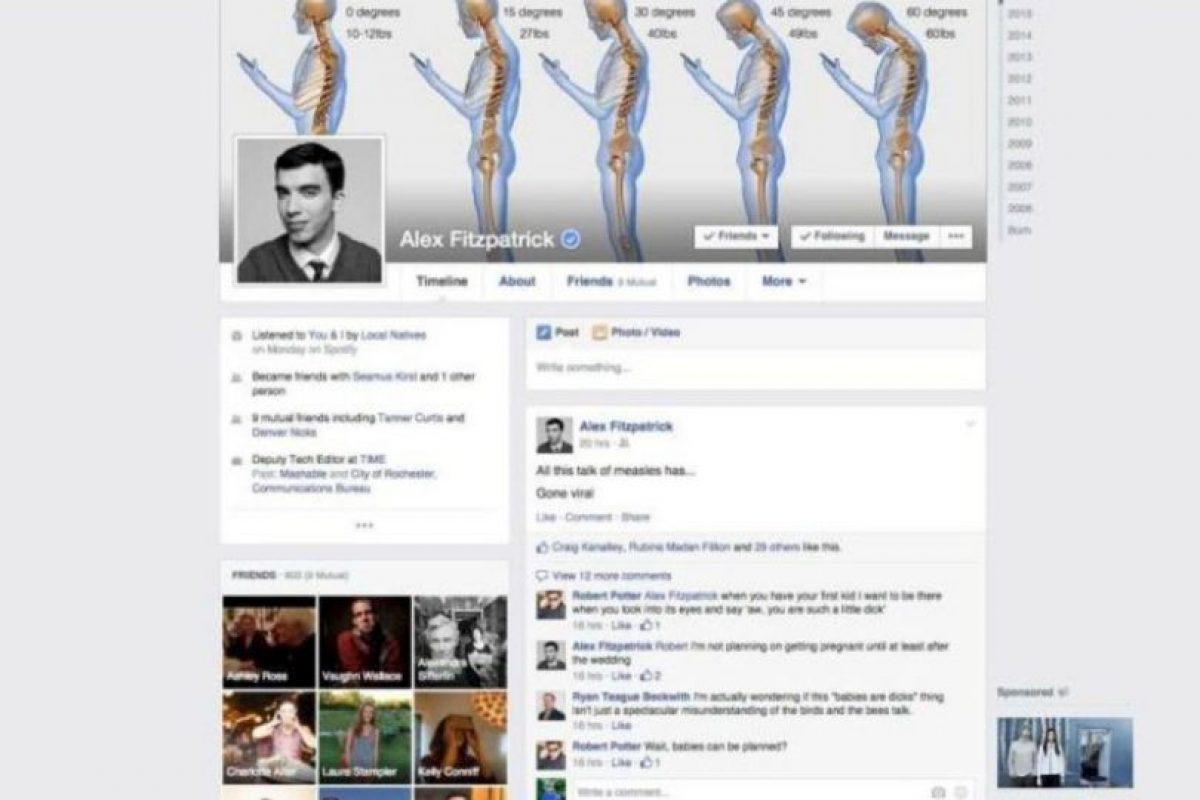 2015. Facebook muestra un nuevo algoritmo para seleccionar noticias y mejores configuraciones de privacidad. Foto:vía Facebook.com. Imagen Por: