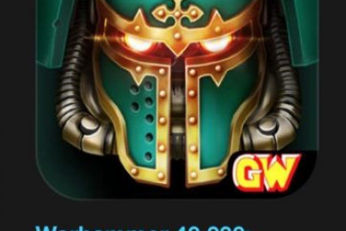 """5- """"Warhammer 40,000: Freeblade"""". Designado como el mejor en iPhone 6s. Es gratuito. Acción sin freno en el nuevo juego de la saga de Warhammer 40,000. Foto:vía Apple. Imagen Por:"""