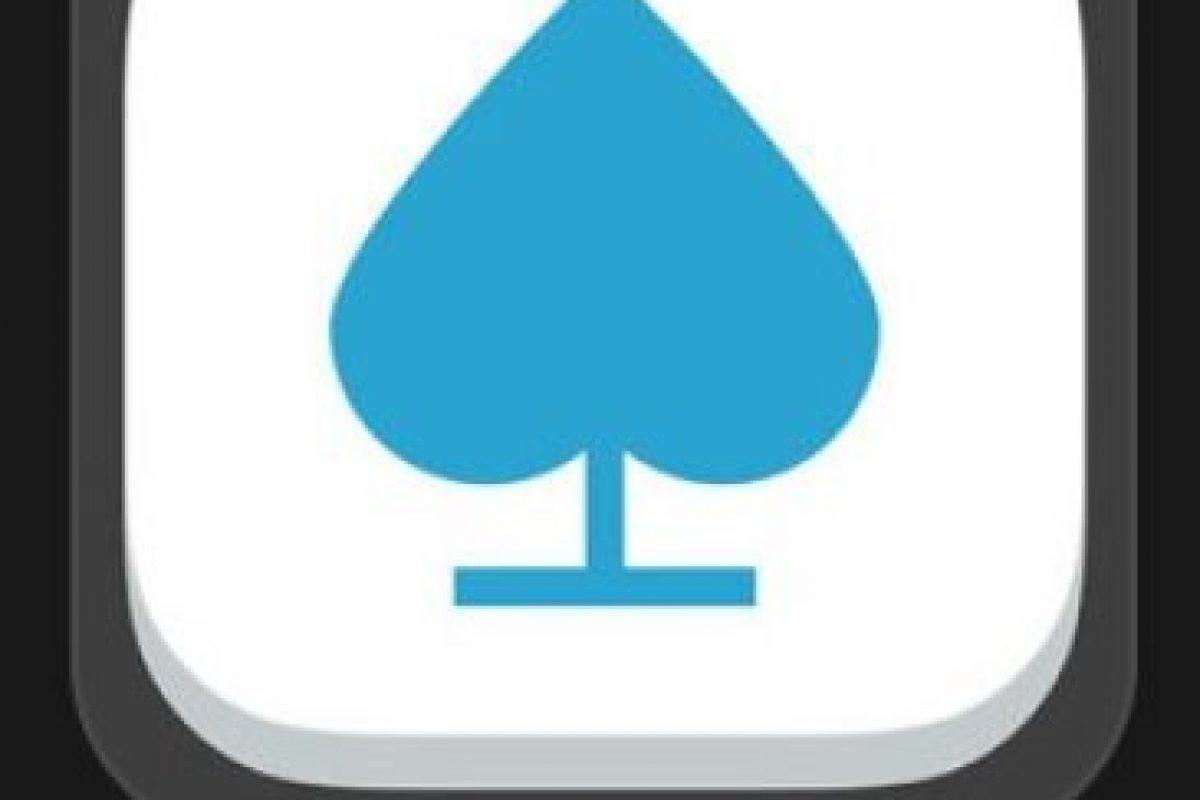 """21- """"Sage Solitaire""""- Es gratuito. Sage Solitaire es una nueva variante del Solitario que combina la suerte y la alegría dek juego con la profundidad del Póker optimizado para su teléfono. Foto:vía Apple. Imagen Por:"""