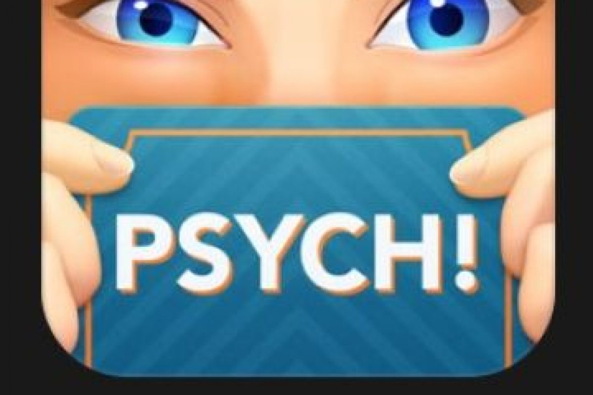 """23- """"Psych! Outwit Your Battle"""". Es gratuito. """"PSYCH!"""" – de los creadores de """"Heads Up!"""" – un nuevo y emocionante juego de mesa para jugar cuando estés con sus amigos. Foto:vía Apple. Imagen Por:"""