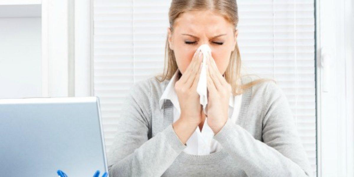 El 87% de los trabajadores siente que la alergia afecta su rendimiento laboral