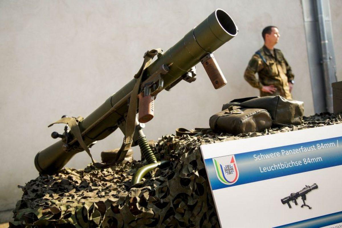 Y SVD de Dragunov fabricados en Rusia Foto:Getty Images. Imagen Por: