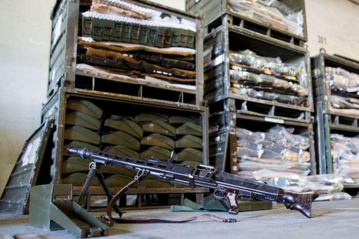 """""""La cantidad y variedad de las existencias de armas del EI reflejan -en definitiva- decenios de transferencia de armas irresponsables a Irak"""", informa Amnistía Internacional Foto:Getty Images. Imagen Por:"""