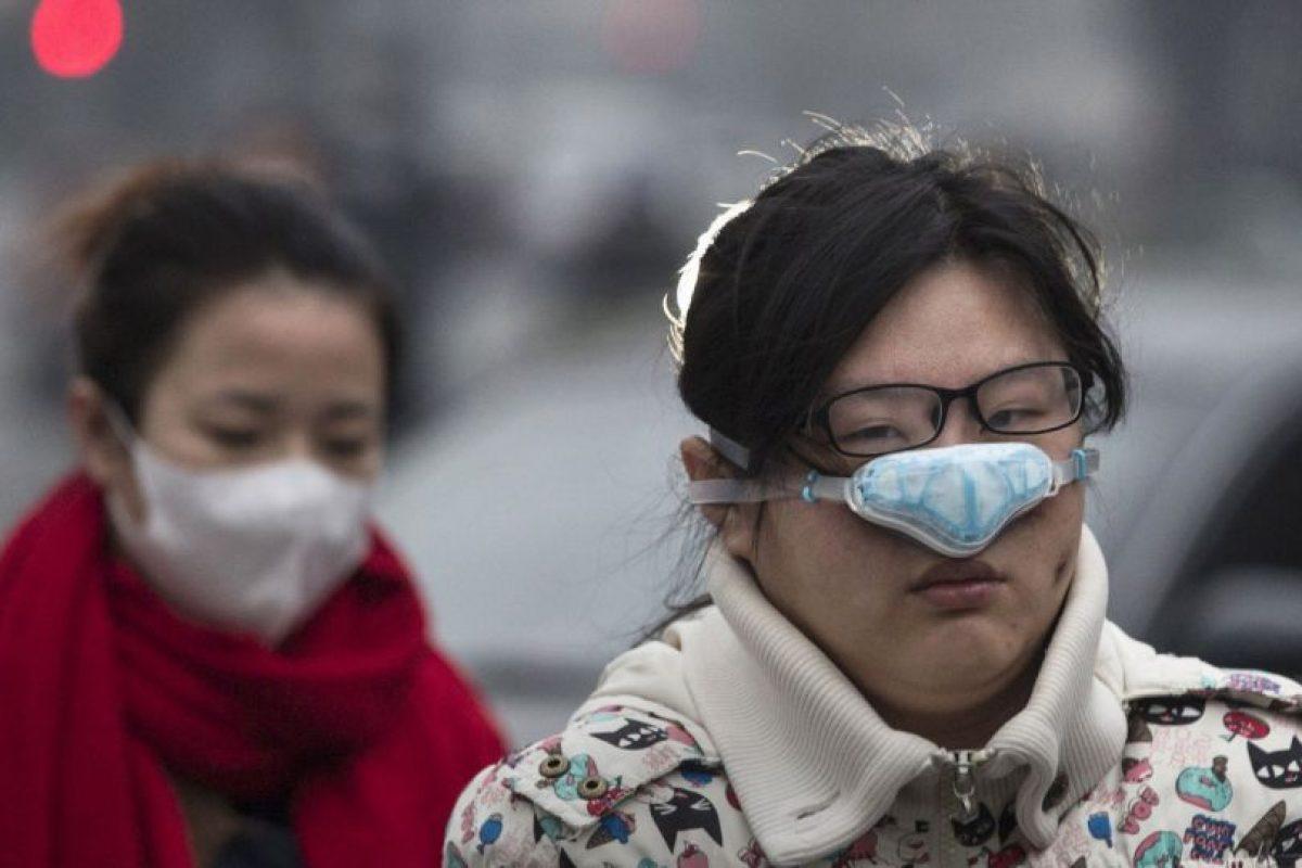 Esta semana, Beijing emitió la primera alerta roja de su historia por alta concentración de esmog Foto:Getty Images. Imagen Por: