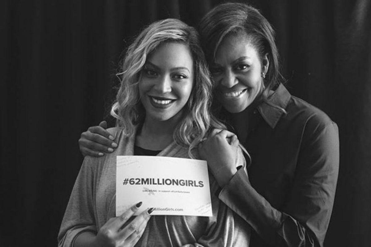 #62millonsgirls, es a favor de aquellas niñas en el mundo que no tienen oportunidad de estudiar Foto:Vía instagram.com/michelleobama/. Imagen Por: