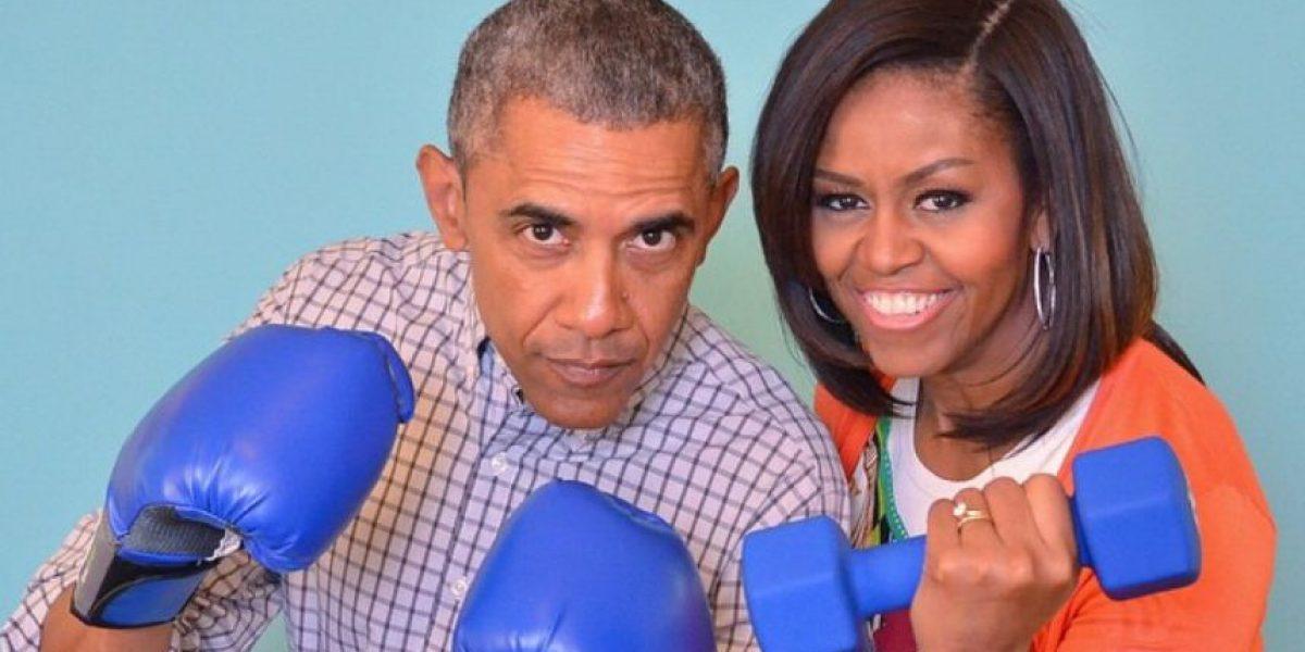 Michelle Obama sorprende cantando Rap