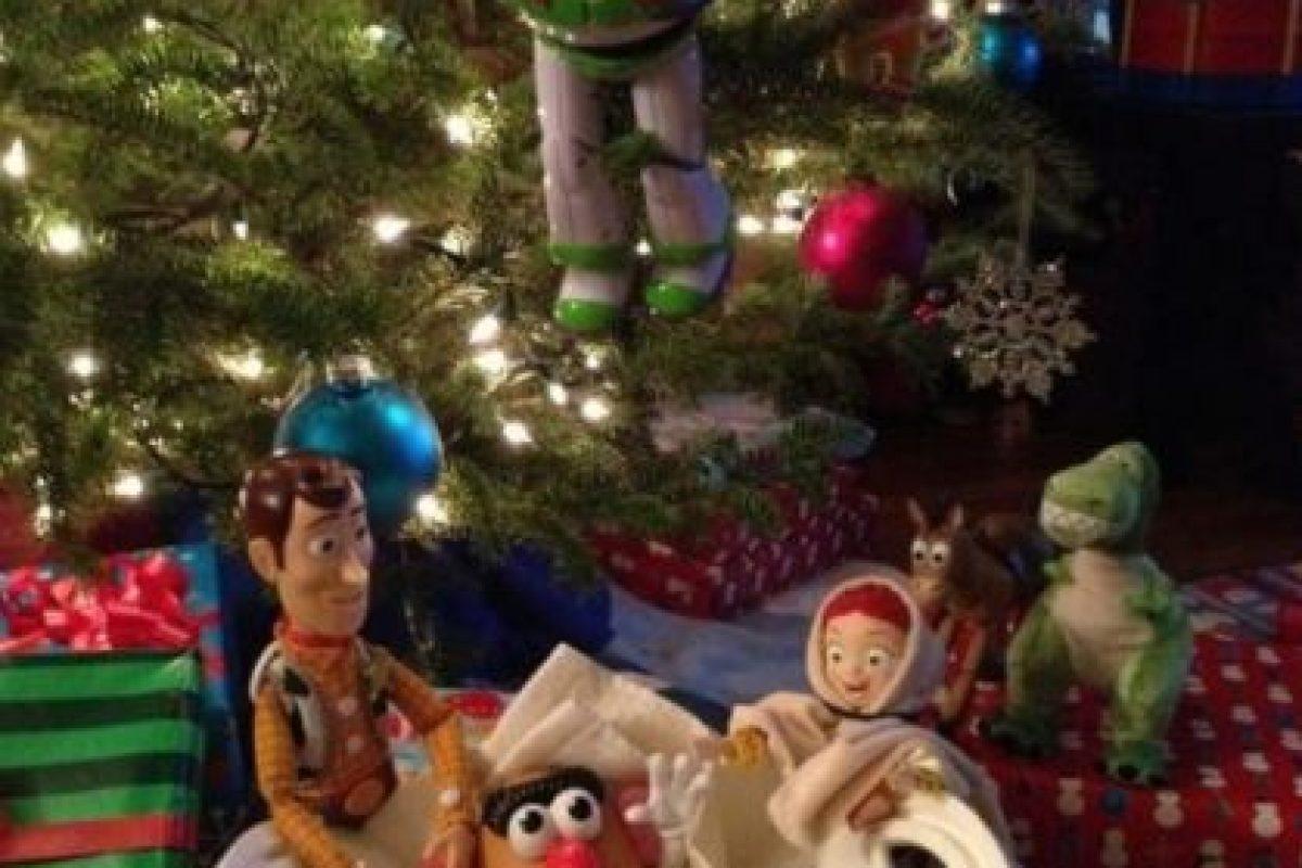 """Aquí, la película """"Toy Story"""" protagonizó la escena Foto:Reddit. Imagen Por:"""