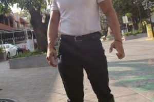 A diario, cientos de mujeres le piden tomarse fotos con él, pues les parece sumamente atractivo. Foto:Vía Facebook/SergioRamírezTránsitoDeMiCorazón. Imagen Por: