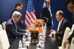 El Secretario de Estado de Estados Unidos, John Kerry, señaló que existe una gran esperanza de que se llegue a un acuerdo este sábado. Foto:AFP. Imagen Por: