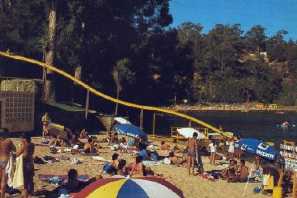 Laguna Sausalito de Viña del Mar, año 1984. Foto:Fotos Históricas de Chile. Imagen Por: