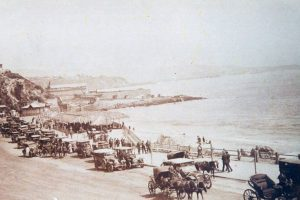 Balneario Miramar de Viña del Mar, 1915. Foto:Fotos Históricas de Chile. Imagen Por: