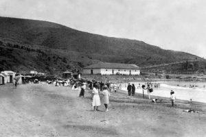 Balneario de Papudo, 1930. Foto:Fotos Históricas de Chile. Imagen Por: