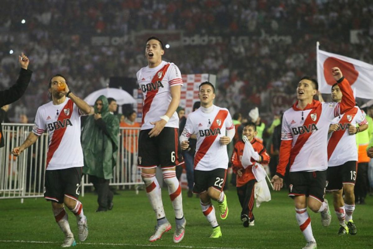 6. River Plate Foto:Getty Images. Imagen Por:
