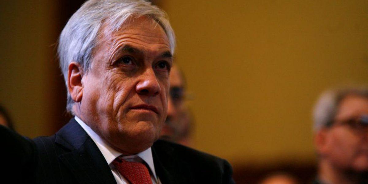 """Piñera entrega apoyo a fallo del TC: """"El proyecto del gobierno discriminaba"""""""