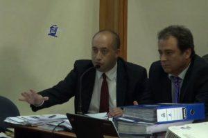 El abogado querellante Sergio Coronado Foto:Captura: Poder Judicial. Imagen Por: