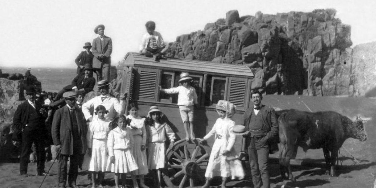 ¡Irreconocibles! Así eran las vacaciones de los chilenos hace 100 años