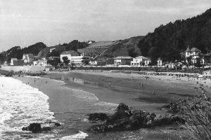 Panorámica de Playa Amarilla de Concón en 1956. Foto:Fotos Históricas de Chile. Imagen Por: