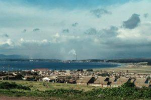Panorámica de Ventanas desde el balneario de Quintero, 1983. Foto:Fotos Históricas de Chile (Colaboración de Pablo Ramírez Chuaqui). Imagen Por: