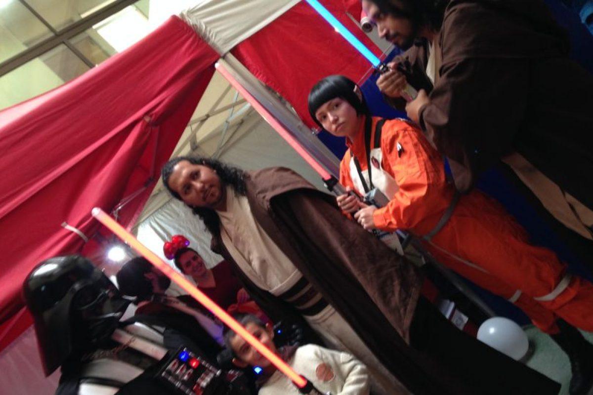 """""""Somos opuestos, pero al mismo tiempo iguales"""", ha dicho el Sith. Foto:Cortesía. Imagen Por:"""