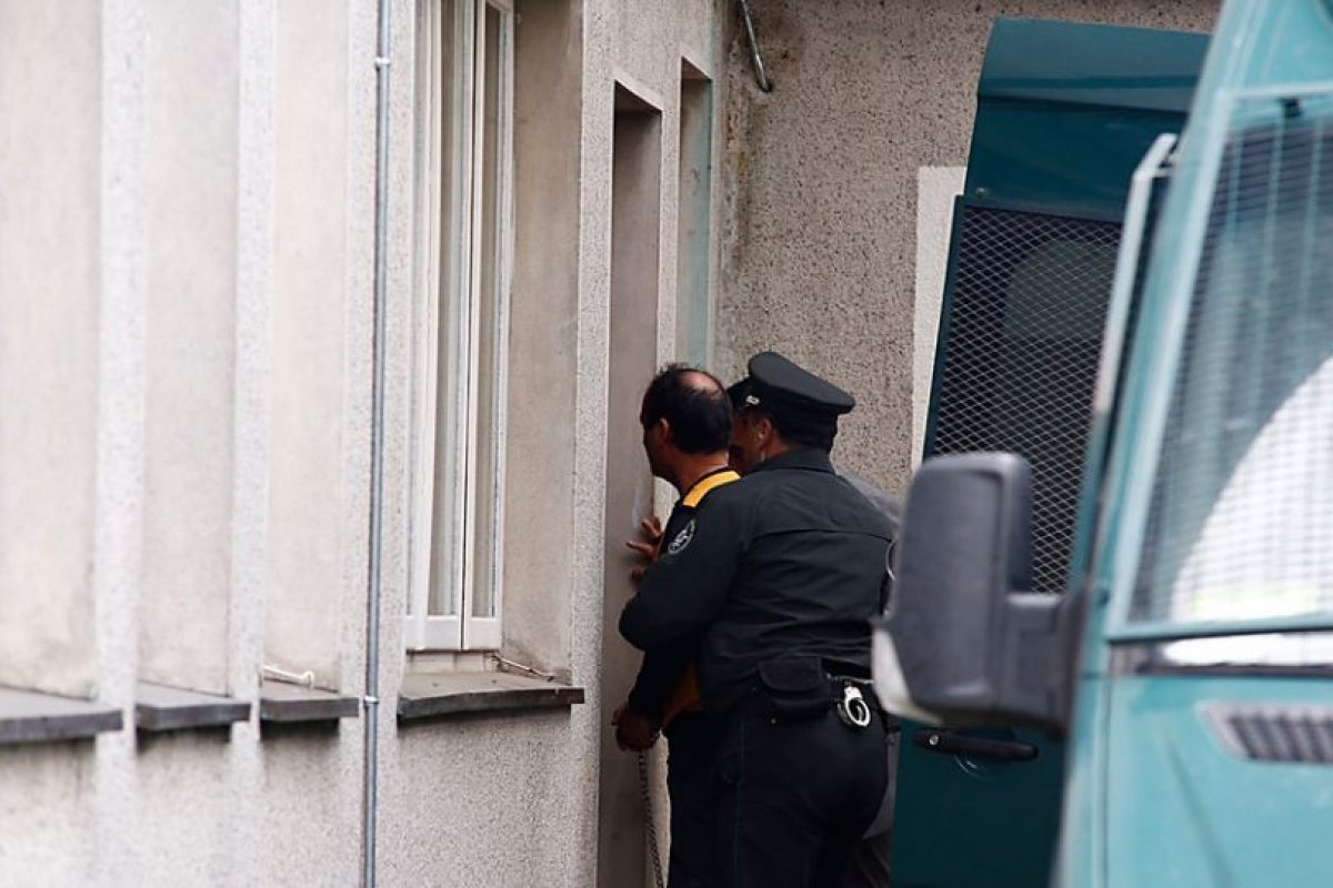 Jaime Anguita, viudo de la asesinada Viviana Haeger Foto:Agencia Uno. Imagen Por: