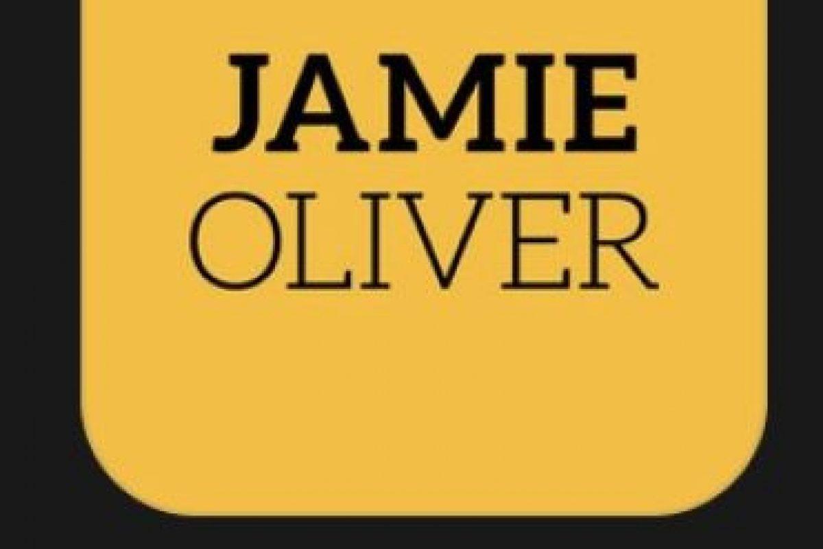 """24- """"Jamie Oliver's Recipes"""". Es gratuita y tienen acceso a 15 recetas originales de Jamie Oliver. Foto:Apple. Imagen Por:"""
